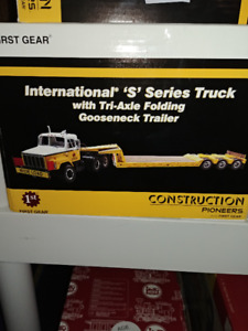 1:25 scale Construction and Transportation models.