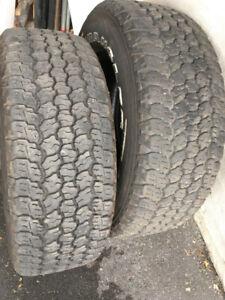 pneu F-150 18 pouces