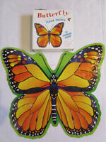 Two Large BUTTERFLY puzzles - Large Oversize Pieces.
