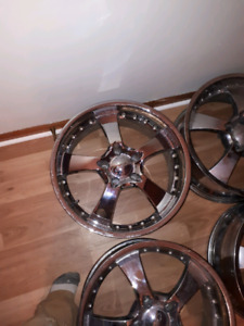 20inch eagle alloys in great shape 5bolt 900OBO