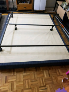 Queen Box spring and metal frame