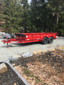 2012 14'x7'Diamond C Dump Trailer for Sale
