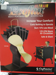 ECOFAN FOR WOOD BURNING STOVES
