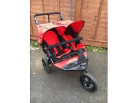 Outnabout nipper double pushchair - barely used