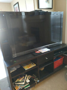 Ikea Entertainment unit- black -great Condition. Only$90