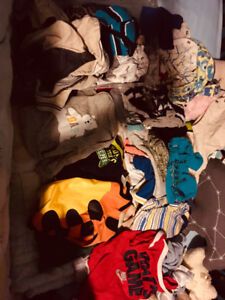 Baby boy clothing 0-12 months $15
