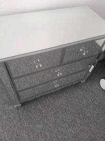 Mirrored Unit/Sideboard