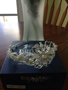 Bridal headpiece from priceless bridal