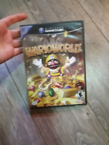 Wario world game cube