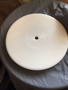 Rega. 26mm Delrin Platter  For All Rega Turntables In Black Or White
