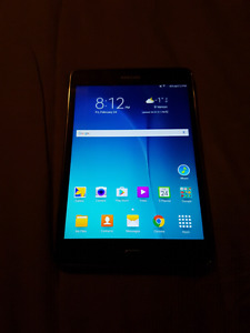 "Samsung Galaxy Tab A 8"" 16GB Android 5.0 Lollipop Tablet - Titan"