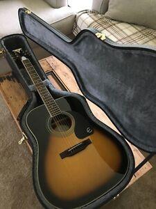 Epiphone PRO 1-plus Acoustic Guitar & Hard Case $240