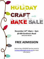 Holiday Craft and Bake Sale