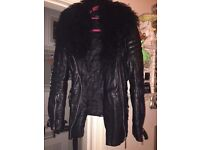 River island real leather stunning jacket