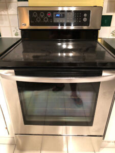LG 5 Burners Stove with Microwave $400