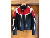 Spidi Ladies Leather Motorcycle Jacket