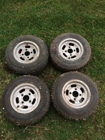 Mini alloy (trailer wheels)