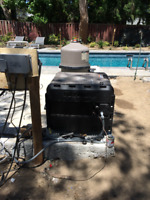 Pool heaters , Underground gas line- please call 4168207636