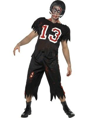 High School Zombie Kostüm (Zombie Footballer Kostüm Halloween Highschool Horror)