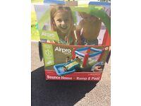 AirPro Tech Bouncy Castle, Slide & Pool