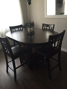 Dining room table purchased from the Brick