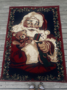 Xmas Santa Area Carpet