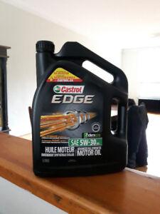 Huile à moteur Synthétique Castrol Edge 5w30