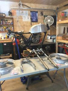 Parts for Yamaha SR500