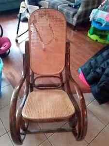Old school rocking chair