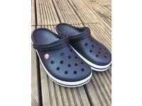 Men's Black Crocs - Size 9