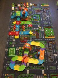 VTech Toot Toot Big Bundle including Garage, Tracks & Airport plus vehicles