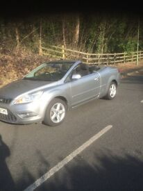 Ford focus cc convertible low miles