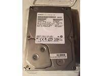 """Hitachi 500gb 3.5"""" SATA hard drive"""