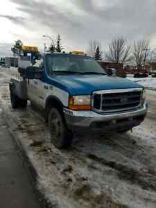 2002 ford f 450 turbo tow truck!!!