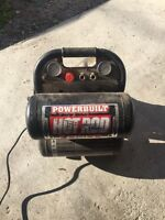 Air compressor 5 gallons $100 works great!!