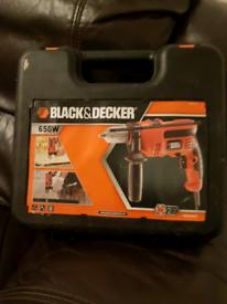 Black and Decker 650w hammer drill