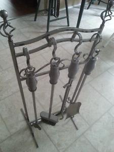 Fireplace Tool Set - 5 Piece