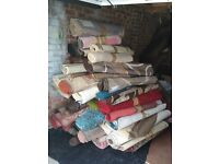 Car boot sale job lot about 70 used rugs 80 Ono