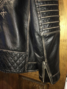 AFFLICTION LEATHER JACKET XL Gatineau Ottawa / Gatineau Area image 8