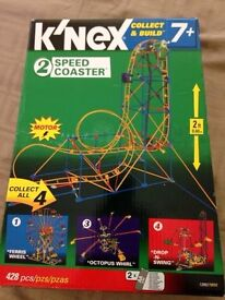Knex - Collect & Build - 2speedCoaster - with Motor -