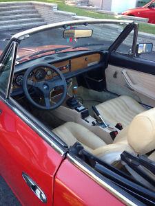 FIAT SPIDER 1979 PINNIFARINI 124