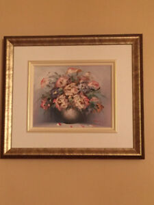 Floral Framed Paintings
