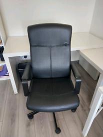 Ikea Malm Desk & Chair