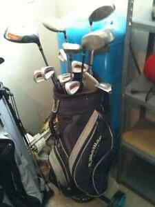 Golf Bag and Irons (Diablo and Nike Driver not included)