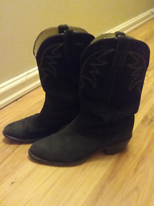 Long haul cowboy boots, good shape