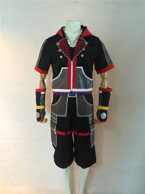 Sora Kingdom Hearts 3 III Cosplay Costume Full Set Necklace - Kingdom Hearts Costumes Halloween