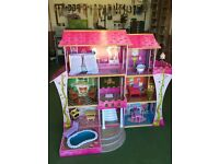 KIDKRAFT ONCE UPON A TIME DOLLS HOUSE EXCELLENT CONDITION