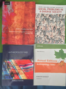 McMaster first year textbooks