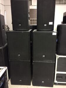 Speaker/moniteur RCF amplifiées 12'' 700watts RMS