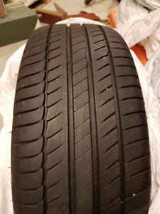 Michelin Primacy HP Tires (set of 4) - 215/45/R17